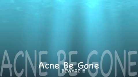 Thumbnail for entry Acne Be Gone
