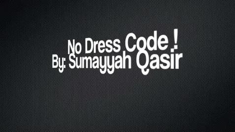 Thumbnail for entry No Dress Code!