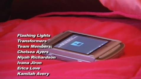 Thumbnail for entry 3. Flashing Lights-Original Music Video. VOTE!!!!