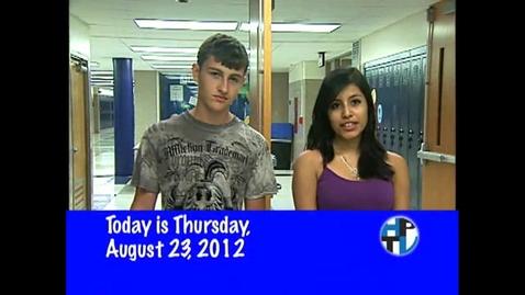 Thumbnail for entry Thursday, August 23, 2012