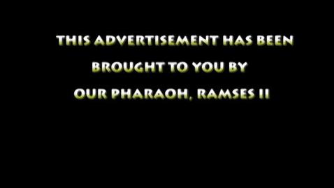 Thumbnail for entry ganucheau_pharaoh newsletter commercial