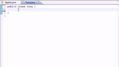 Thumbnail for entry Java Programming Tutorial - 16 - Many Methods and Instances