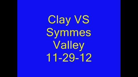 Thumbnail for entry 11-29-2012 Girls vs Symmes Valley