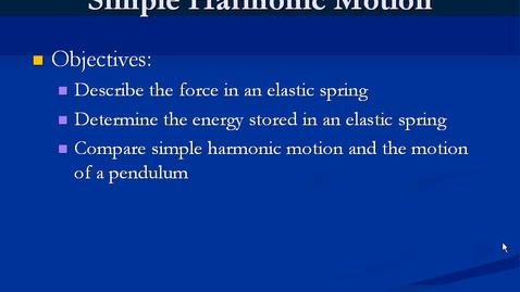 Thumbnail for entry Physics-SHM