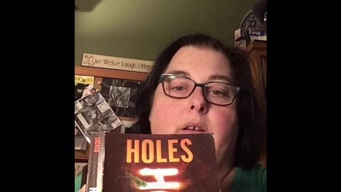 Thumbnail for entry Read Aloud Holes Chapter 7 Part 1