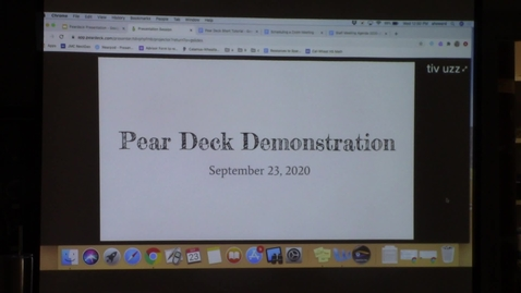 Thumbnail for entry Pear Deck training