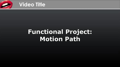 Thumbnail for entry CrazyTalk Animator Functional Project - Motion Path
