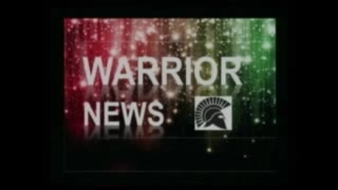 Thumbnail for entry Warrior News 2/14/13