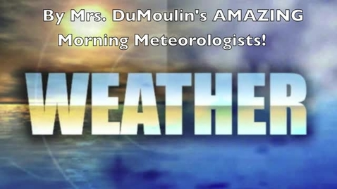 Thumbnail for entry 2016 Slavins Weather Greenscreen morning