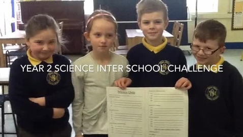 Thumbnail for entry Y2 Science Interschool Challenge