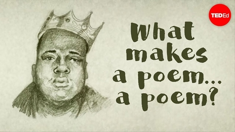 Thumbnail for entry What makes a poem … a poem? - Melissa Kovacs