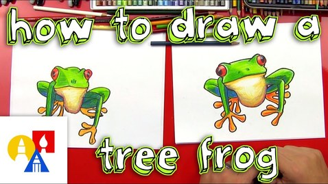 Thumbnail for entry How To Draw A Tree Frog