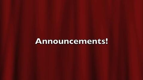 Thumbnail for entry Vermilion High School Announcements 10-20-2010