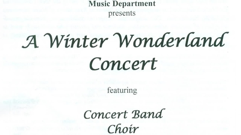 Thumbnail for entry GIHS Winter Wonderland Concert 12-18-2019