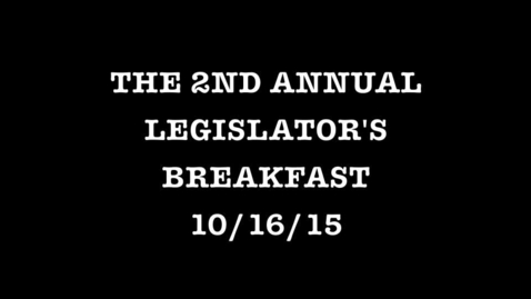 Thumbnail for entry 2015 Tottenville High School Legislator's breakfast