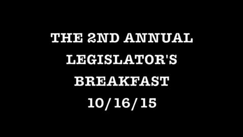 Thumbnail for entry 2015 Tottenville High School Legislator's breakfast