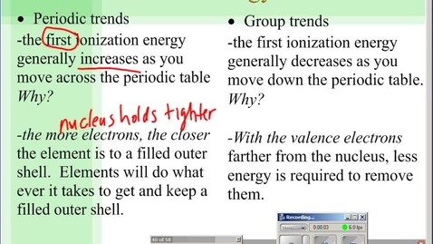 Thumbnail for entry Stephens Chemistry: (4-8-10) Final discussions of overall Ch6