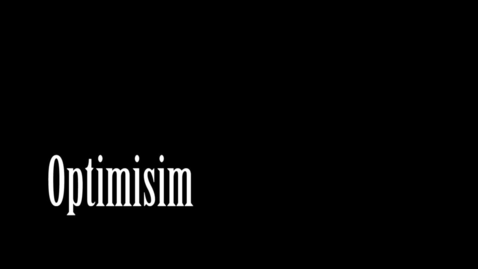 Thumbnail for entry Optimism - WSCN Abstract 2012