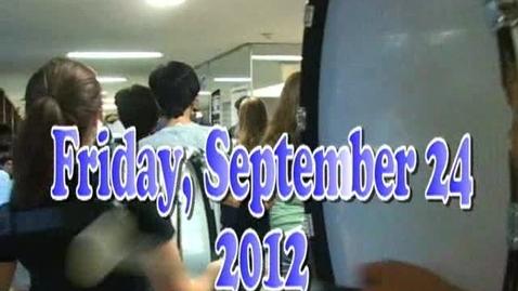 Thumbnail for entry Friday, September 24, 2010