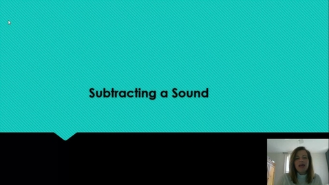 Thumbnail for entry Subtracting Sounds