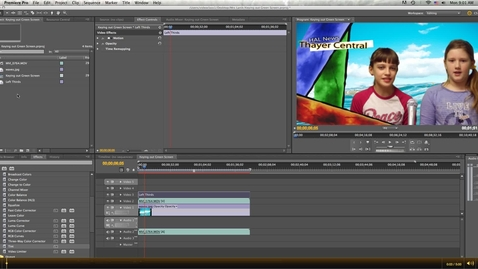 Thumbnail for entry Creating a Ticker for your Newscast