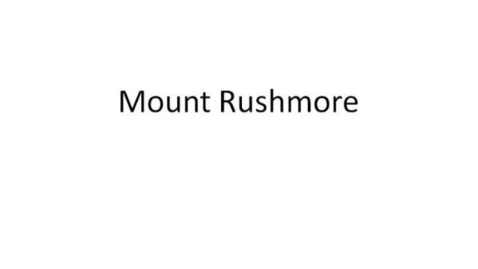 Thumbnail for entry Rushmore