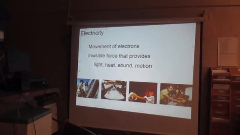 Thumbnail for entry Intro to Electricity 1