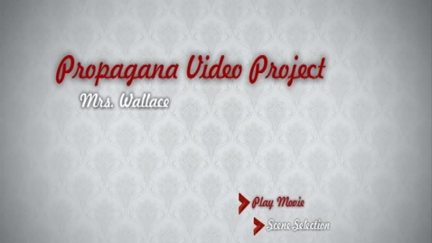 Thumbnail for entry Propaganda Video Project