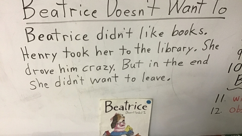 Thumbnail for entry Story Sentences for 'Beatrice Doesn't Want To'