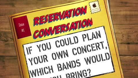 Thumbnail for entry Reservation Conversation