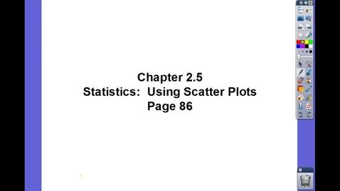 Thumbnail for entry Algebra II Ch 2.5