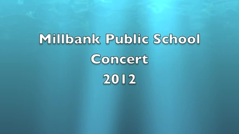 Thumbnail for entry 2012 School Concert