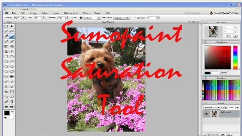 Thumbnail for entry Sumopaint Saturation