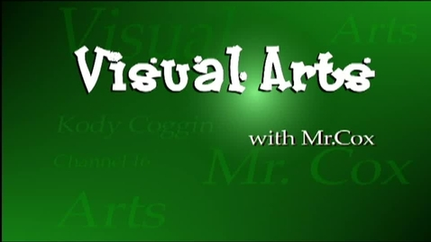 Thumbnail for entry Visual Arts (AHS)