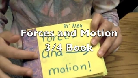 Thumbnail for entry Forces and Motion Book