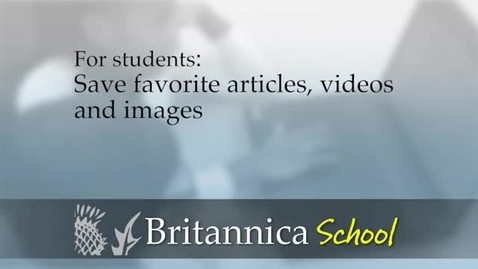 Thumbnail for entry Britannica Student Use