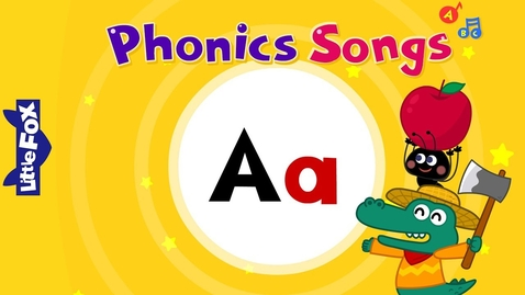Thumbnail for entry Letter Aa | New Phonics Songs | Little Fox | Animated Songs for Kids