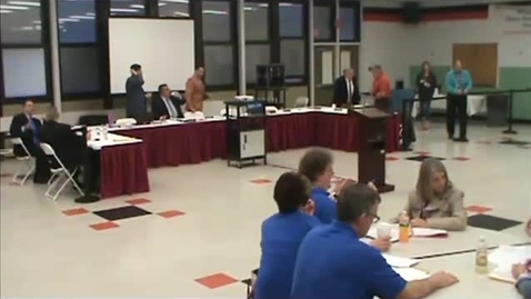 Thumbnail for entry Hackettstown Board of Education Meeting: May 4th, 2016