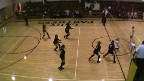 Thumbnail for entry Lady Panther Volleyball vs DV
