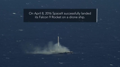 Thumbnail for entry SpaceX history of landing