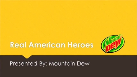 Thumbnail for entry Real American Heroes Project - Austin Venable