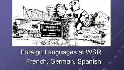 Thumbnail for entry Waverly-Shell Rock 8th grade Orientation -Languages