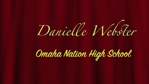 Thumbnail for entry Danielle Webster