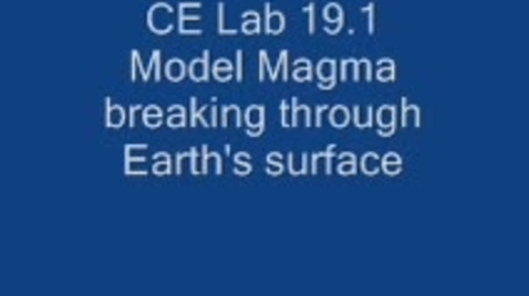 Thumbnail for entry Investigating Magma and New Landforms