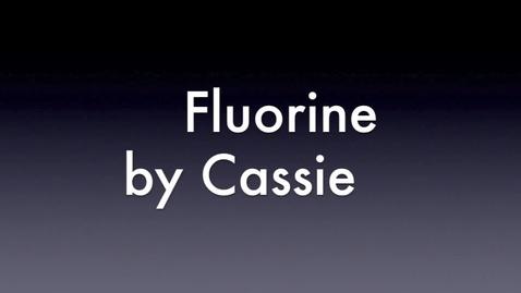 Thumbnail for entry Fluorine