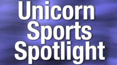 Thumbnail for entry Unicorn Sports Spotlight  - Justin Garcia