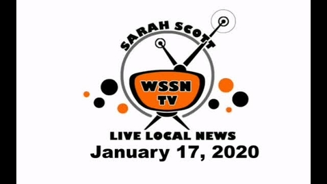 Thumbnail for entry WSSN News Jan 17, 2020
