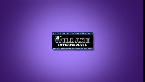 Thumbnail for entry Willard Master Schedule News