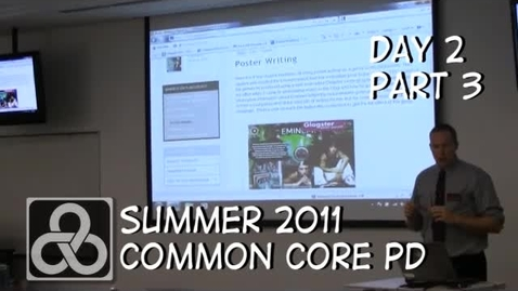 Thumbnail for entry Kent ISD Common Core PD - Part 3