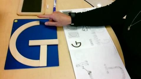 Thumbnail for entry Handwriting:  Letter G